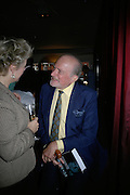 Claus von Bulow, Book launch hosted by Geordie Greig for Fulfilment & Betrayal by  Naim Attallah: Bluebird, 350 King's Road, London. 1 May 2007.  -DO NOT ARCHIVE-© Copyright Photograph by Dafydd Jones. 248 Clapham Rd. London SW9 0PZ. Tel 0207 820 0771. www.dafjones.com.