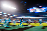 October 17, 2017: Carolina Panthers vs the Philadelphia Eagles. Fozzy Whittaker