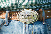 Keith Huettig's Belt Buckle
