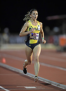 May 3, 2018; Stanford, CA, USA; Paige Gilchrist (36) of Northern Arizona runs in the women's 5,000m during the Payton Jordan Invitational at Cobb Track &  Angell Field.