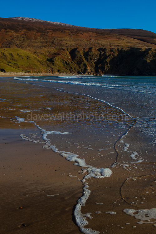 Silver Strand, Or Trabane Beach, near Malin Beg, Donegal, on Ireland's Wild Atlantic Way.