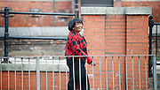 Diane Abbott outside the Labour Party Conference, Manchester, Great Britain <br /> 22nd September 2014 <br /> <br /> Diane Abbott walking around Manchester <br /> <br /> Photograph by Elliott Franks <br /> Image licensed to Elliott Franks Photography Services