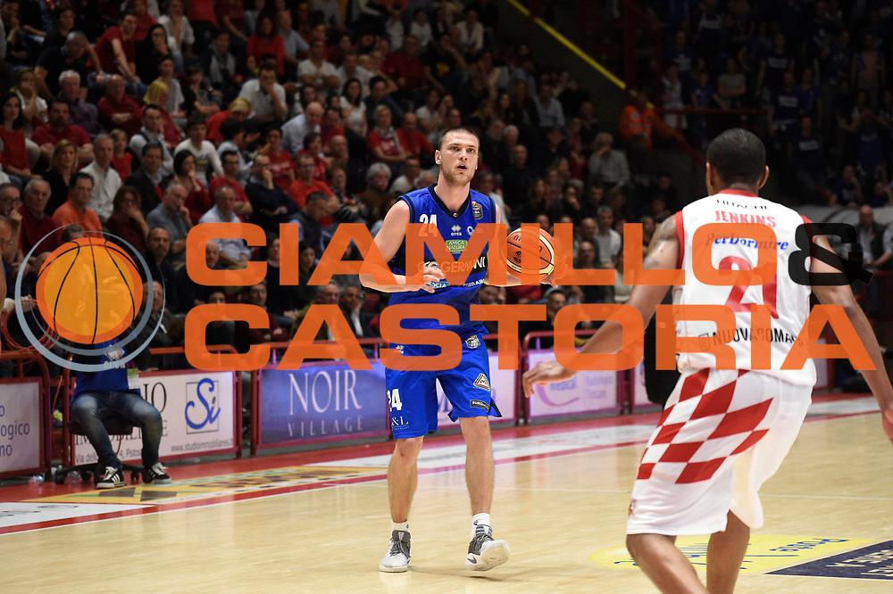 - sport basket serie a The Flexx Pistoia - Germani Basket Brescia<br /> Michalak<br /> The Flexx Pistoia - Germani Basket Brescia<br /> Legabasket A 2016/2017<br /> Pistoia 07/05/2017<br /> Foto Ciamillo-Castoria