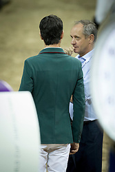 Steve Guerdat, Thomas Fuchs, (SUI) <br />  Longines FEI World Cup™ Jumping Final Las Vegas 2015<br />  © Hippo Foto - Dirk Caremans<br /> Final III round 2 - 19/04/15