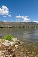 Osooyos Lake from Haynes Point Provincial Park, Osooyos, British Columbia, Canada