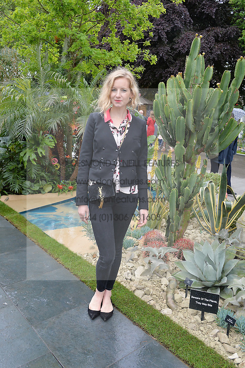 SAVANNAH MILLER at the 2015 RHS Chelsea Flower Show at the Royal Hospital Chelsea, London on 18th May 2015.