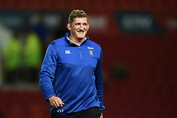 Bath Director of Rugby Stuart Hooper looks on prior to the match - Mandatory byline: Patrick Khachfe/JMP - 07966 386802 - 18/10/2019 - RUGBY UNION - Ashton Gate Stadium - Bristol, England - Bristol Bears v Bath Rugby - Gallagher Premiership