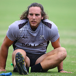 DURBAN, SOUTH AFRICA, Thursday 14, January 2016 - Neil Maritz during The Cell C Sharks Pre Season training Thursday 14th January 2016,for the 2016 Super Rugby Season at Growthpoint Kings Park in Durban, South Africa. (Photo by Steve Haag)<br /> images for social media must have consent from Steve Haag