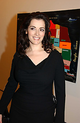 NIGELLA LAWSON at a reception to celebrate the opening of 'USA Today' - an exhibition of work from The Saatchi Gallery held at The Royal Academy of Arts, Burlington Gardens, London on 5th September 2006.<br /><br />NON EXCLUSIVE - WORLD RIGHTS