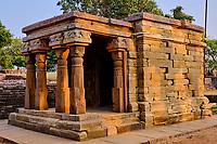 Inde, état du Madhya Pradesh, Sanchi, monuments bouddhiques classés Patrimoine mondial de l'UNESCO, temple 17 // India, Madhya Pradesh state, Sanchi, Buddhist monuments listed as World Heritage by UNESCO, temple 17