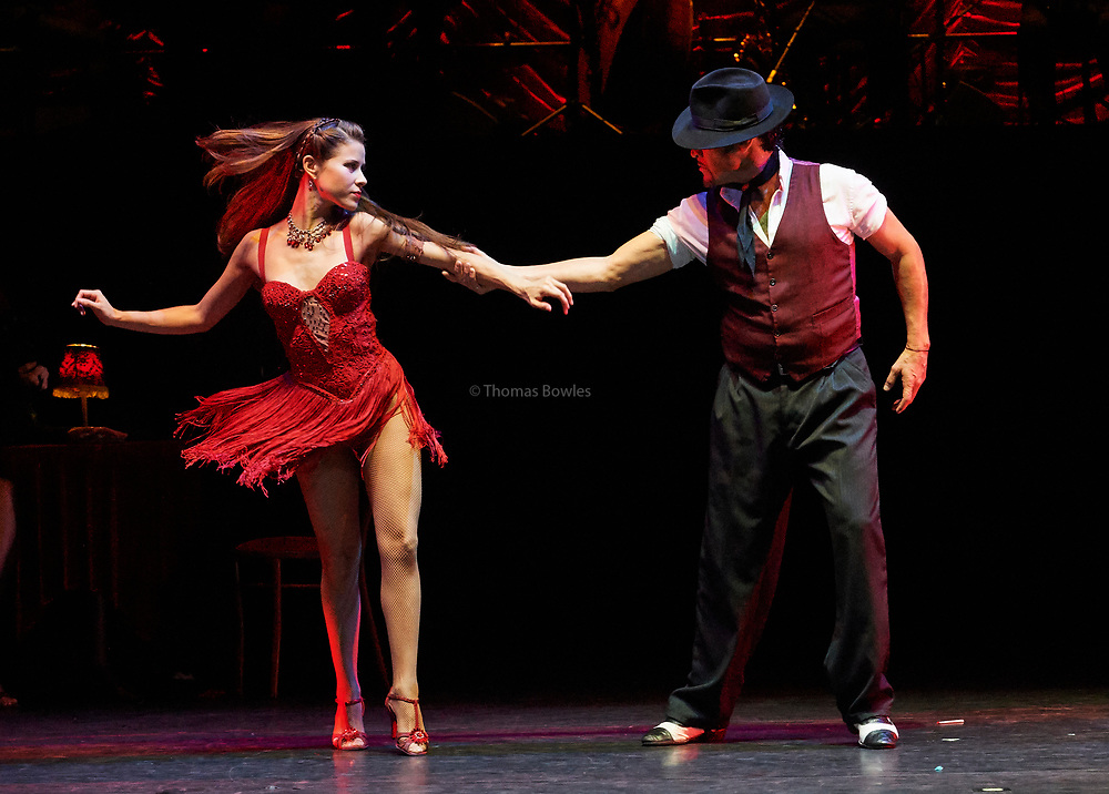 19th July  2017. Tanguera - Dancers from Argentina perform at Sadler's Wells Theatre, London.