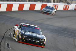April 20, 2018 - Richmond, Virginia, United States of America - April 20, 2018 - Richmond, Virginia, USA: Elliott Sadler (1) brings his race car down the front stretch during the ToyotaCare 250 at Richmond Raceway in Richmond, Virginia. (Credit Image: © Chris Owens Asp Inc/ASP via ZUMA Wire)
