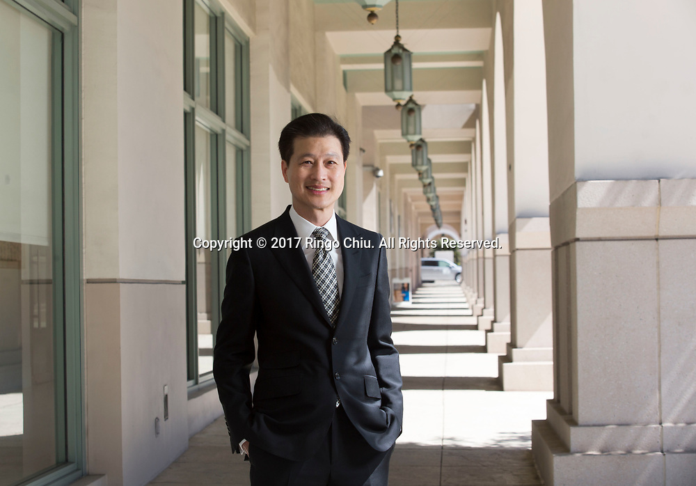 Dominic Ng is an American banker who is Chairman and CEO of East West Bank in California. <br /> (Photo by Ringo Chiu)<br /> <br /> Usage Notes: This content is intended for editorial use only. For other uses, additional clearances may be required.