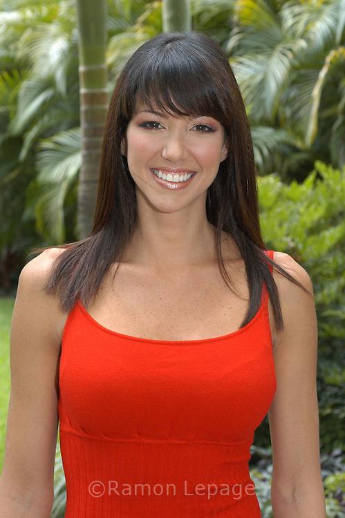 Ganadora del Miss Venezuela Internacional de 1997, es una de las modelos y animadoras más bellas y talentosas de Venezuela. Actualmente es imagen y presentadora de la cadena de televisión E! Latinoamérica.  Venezuelan model and host.  (Ramón Lepage / Orinoquiaphoto)