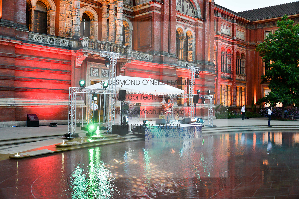 Atmosphere at the V&A Summer Party 2017 held at the Victoria & Albert Museum, London England. 21 June 2017.
