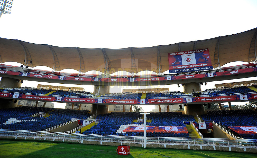 360 degree of stadium during match 43 of the Indian Super League (ISL) season 2  between Chennaiyin FC and Kerala Blasters FC held at the Jawaharlal Nehru Stadium, Chennai, Tamil Nadu, India on the 21st November 2015.<br /> <br /> Photo by Pal Pillai / ISL/ SPORTZPICS