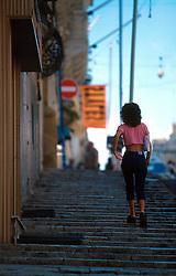 MALTA VALETTA JUL00 - Daily life scene from Old Valetta, Malta's capital. ....jre/Photo by Jiri Rezac....© Jiri Rezac 2000....Tel:   +44 (0) 7050 110 417..Email: info@jirirezac.com..Web:   www.jirirezac.com