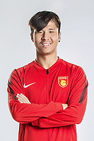 **EXCLUSIVE**Portrait of Chinese soccer player Zhao Mingjian of Hebei China Fortune F.C. for the 2018 Chinese Football Association Super League, in Marbella, Spain, 26 January 2018.