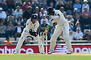 Cheteshwar Pujara of India batting during day two of the fourth SpecSavers International Test Match 2018 match between England and India at the Ageas Bowl, Southampton, United Kingdom on 31 August 2018.