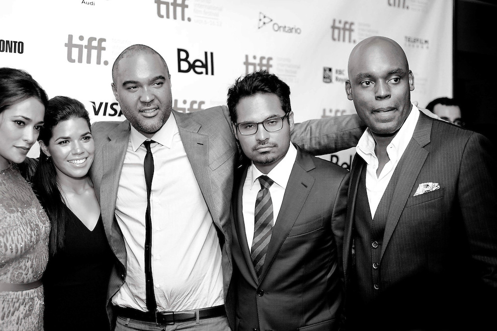TIFF - 2012 Red Carpet - End Of Watch <br /> <br /> Director - David Ayer <br /> Actors - Natalie Martinez / Micheal Pena / Anna Kendrick / Jake Gyllenhaal