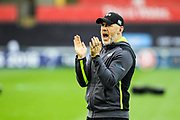 Ospreys head coach Steve Tandy before the European Rugby Challenge Cup match between Ospreys and ASM Clermont Auvergne at The Liberty Stadium, Swansea on 15 October 2017. Photo by Andrew Lewis.