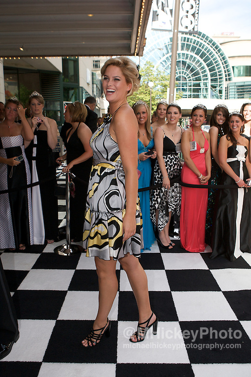 America's Next Top Model winner Whitney Thompson seen at the 500 Festival Snakepit Ball on May 24, 2008. Photo by Michael Hickey