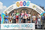 Ciclismo giovanile, 17A Coppa Rosa, Borgo Valsugana 10 settembre 2016<br /> Valvasone Alessia<br /> Guazzini Vittoria<br /> Kock Franziska<br /> Ludwig Hannah<br /> Bauernfeind Riccarda<br />  © foto Daniele Mosna