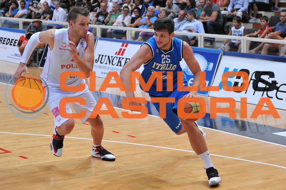 DESCRIZIONE : Trento Trentino Basket Cup Italia Polonia<br /> GIOCATORE : alessandro gentile<br /> CATEGORIA : palleggio<br /> SQUADRA : Nazionale Italia Maschile<br /> EVENTO :  Trento Trentino Basket Cup<br /> GARA : Italia Polonia<br /> DATA : 09/08/2013<br /> SPORT : Pallacanestro<br /> AUTORE : Agenzia Ciamillo-Castoria/M.Gregolin<br /> Galleria : FIP Nazionali 2013<br /> Fotonotizia : Trento Trentino Basket Cup Italia Polonia<br /> Predefinita :