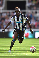 "Newcastle's Massadio Haidara during the Barclays Premier League match at St James' Park, Newcastle. PRESS ASSOCIATION Photo. Picture date: Saturday August 29, 2015. See PA story SOCCER Newcastle. Photo credit should read: Owen Humphreys/PA Wire. RESTRICTIONS: EDITORIAL USE ONLY No use with unauthorised audio, video, data, fixture lists, club/league logos or ""live"" services. Online in-match use limited to 45 images, no video emulation. No use in betting, games or single club/league/player publications."