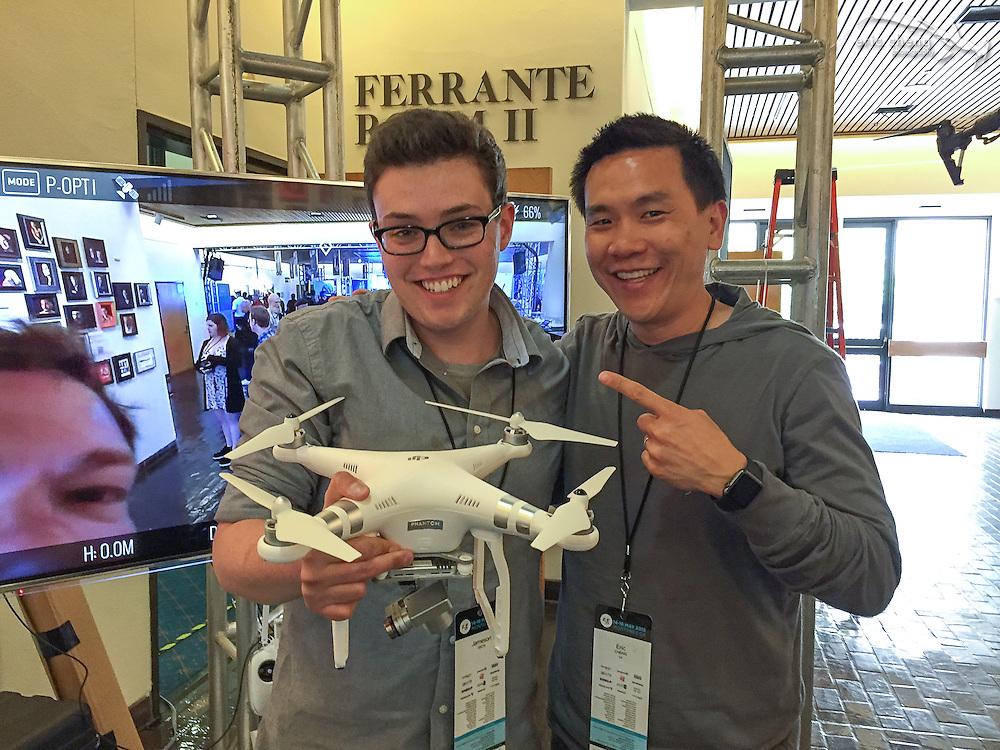 Jameson Rich with DJI Phantom 3