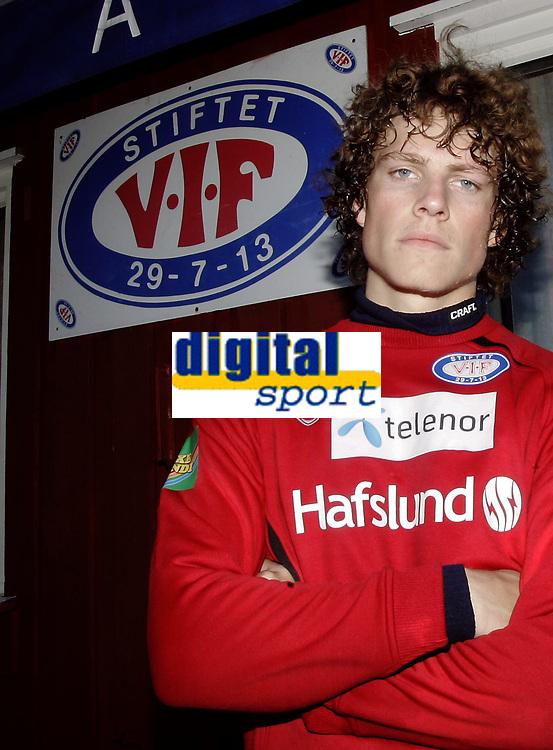 Fotball<br /> Tippeligaen Eliteserien<br /> V&aring;lerenga VIF<br /> Portrett J&oslash;rgen Horn<br /> Foto - Kasper Wikestad