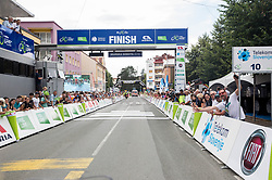 Finish line during 1st Stage of 25th Tour de Slovenie 2018 cycling race between Lendava and Murska Sobota (159 km), on June 13, 2018 in  Slovenia. Photo by Vid Ponikvar / Sportida