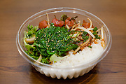 Garlic Ahi Bowl from Abunai Poke ($12.42)