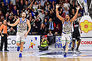 Miro Bilan, Dwayne Evans<br /> Banco di Sardegna Dinamo Sassari - Segafredo Virtus Bologna<br /> Legabasket LBA Serie A 2019-2020<br /> Sassari, 22/12/2019<br /> Foto L.Canu / Ciamillo-Castoria