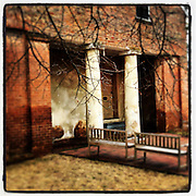 Gary Cosby Jr.  iPhone photographs<br /> Old Brick Church in Mooresville, Alabama.