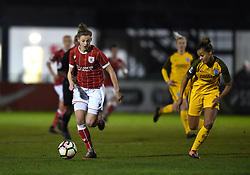 Yana Daniels of Bristol City Women - Mandatory by-line: Paul Knight/JMP - 02/12/2017 - FOOTBALL - Stoke Gifford Stadium - Bristol, England - Bristol City Women v Brighton and Hove Albion Ladies - Continental Cup Group 2 South
