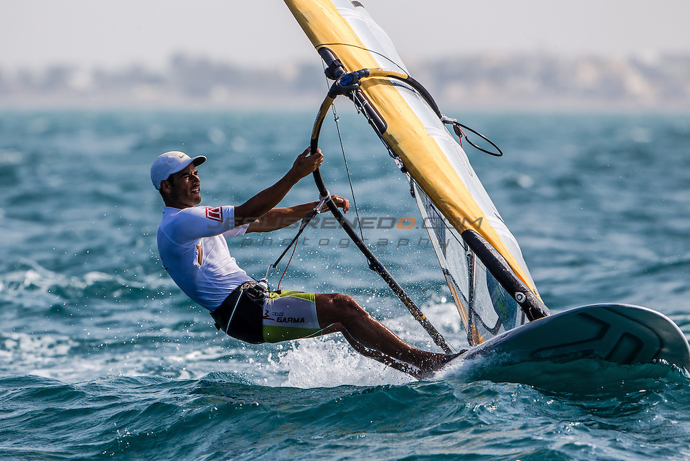 RS:X WORLD CHAMPIONSHIP 2015, October 17th-24th Al Mussanah Sports City, Sultanate. medal races 24th oct 2015<br /> <br /> Credit Jesus Renedo/Oman Sail