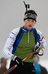 Fak Jakov of Croatia at training session of Slovenian biathlon team before new season 2009/2010,  on November 16, 2009, in Pokljuka, Slovenia.   (Photo by Vid Ponikvar / Sportida)
