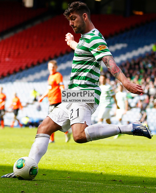 Dundee United v Celtic Scottish Cup Semi Final..Charlie Mulgrew clears the ball.....(c) STEPHEN LAWSON | StockPix.eu