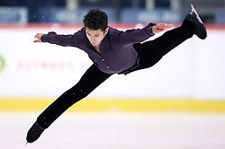03.12.2015, Dom Sportova, Zagreb, CRO, ISU, Golden Spin of Zagreb, Kurzprogramm Herren, im Bild Liam Firus, Canada // during the 48th Golden Spin of Zagreb 2015 Male Short Program of ISU at the Dom Sportova in Zagreb, Croatia on 2015/12/03. EXPA Pictures © 2015, PhotoCredit: EXPA/ Pixsell/ Igor Kralj<br /> <br /> *****ATTENTION - for AUT, SLO, SUI, SWE, ITA, FRA only*****