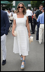 July 5, 2018 - London, London, United Kingdom - Image licensed to i-Images Picture Agency. 05/07/2018. London, United Kingdom. Pippa Middleton arriving on day four of the Wimbledon Tennis Championships in London. (Credit Image: © Stephen Lock/i-Images via ZUMA Press)