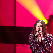 NLD/Hilversum/20180209 - 3e Liveshows The voice of Holland 2018, Nienke Wijnhoven
