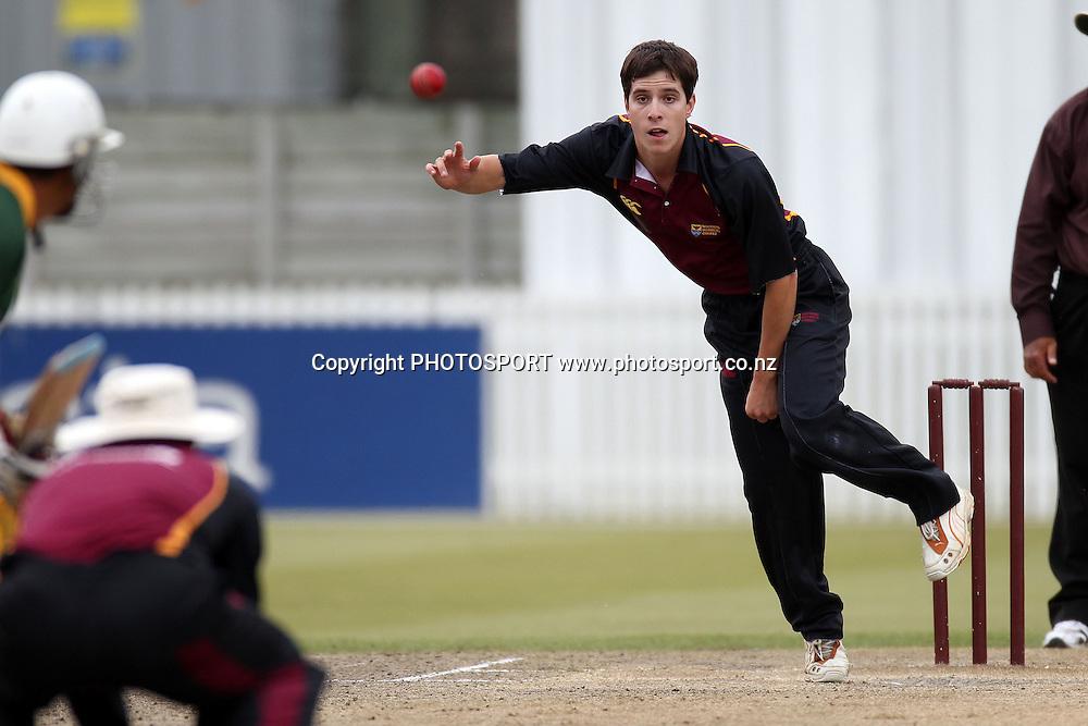 Danyon Stewart, Twenty 20 cricket, Northern Districts Maori v Cook Islands, Seddon Park, Hamilton. 4 April 2011. Photo: William Booth/photosport.co.nz