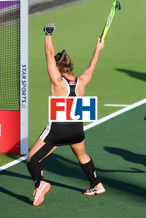 New Zealand, Auckland - 22/11/17  <br /> Sentinel Homes Women&rsquo;s Hockey World League Final<br /> Harbour Hockey Stadium<br /> Copyrigth: Worldsportpics, Rodrigo Jaramillo<br /> Match ID: 10303 - GER vs KOR<br /> Photo: (18) ALTENBURG Lisa (C)
