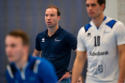 Trainer Coach Paul van der Ven of Sliedrecht in action in the second round between Sliedrecht Sport and Draisma Dynamo on February 29, 2020 in sports hall de Basis, Sliedrecht