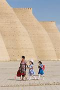 Uzbekistan, Bukhara.<br /> The Ark.