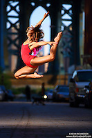Dance As Art Photography Project- Dumbo Brooklyn, New York with dancer, Sarah Botero.