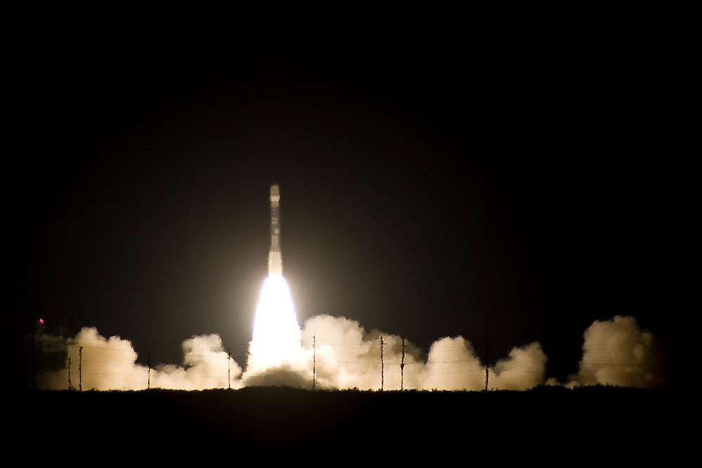 A Delta II 7920-10 lifts the NPP satellite off the pad. T+2 seconds