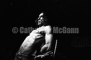 NEW YORK - JANUARY 1993:  IGGY POP performs at Continental Divide in January 1993 in New York City, New York. (Photo by Catherine McGann).Copyright 2010 Catherine McGann