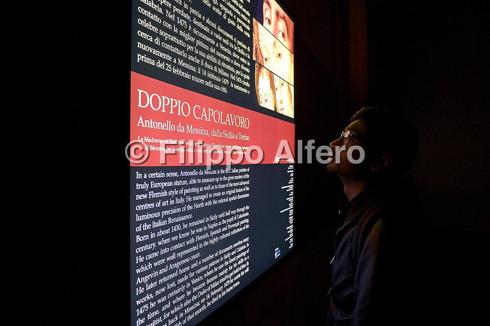 &copy; Filippo Alfero<br /> Inaugurazione DOPPIO CAPOLAVORO Antonello da Messina dalla Sicilia a Torino presso Palazzo Madama<br /> Torino, 21/04/2016